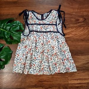 Aerie Floral Peasent Top